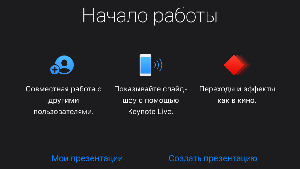 программы для создания презентаций