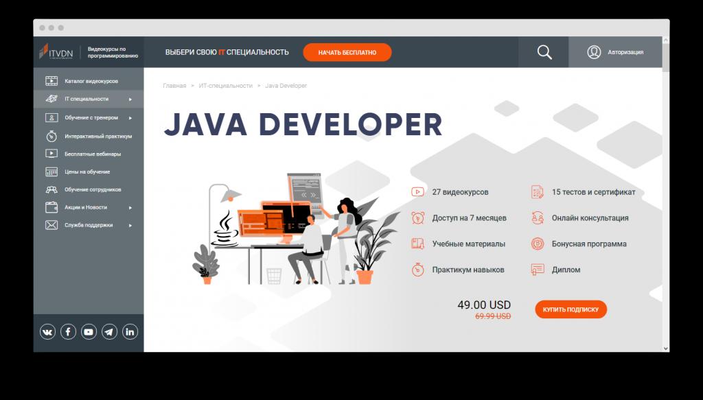 обучение Java
